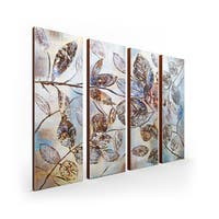 The Gray Barn 'The Falling Leaf' 4-piece Gallery Wrapped Canvas