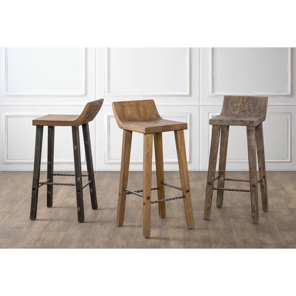 Fantastic Shop The Gray Barn Gold Creek Natural Distressed Wood Spiritservingveterans Wood Chair Design Ideas Spiritservingveteransorg