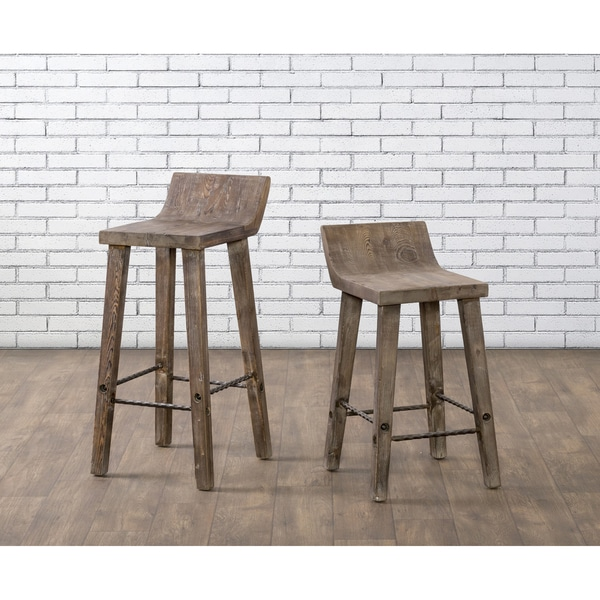 Stools Overstock: Shop The Gray Barn Gold Creek Natural Wood Counter Stool