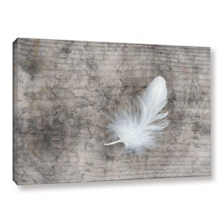 The Gray Barn Cora Niele's White Feather Gallery Wrapped Canvas Art (5 options available)