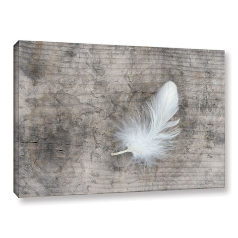 The Gray Barn Cora Niele's White Feather Gallery Wrapped Canvas Art