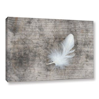Link to The Gray Barn Cora Niele's White Feather Gallery Wrapped Canvas Art Similar Items in Wall Sculptures