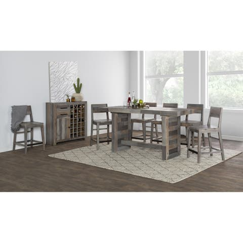 The Gray Barn Fairview Reclaimed Wood Counter Stool