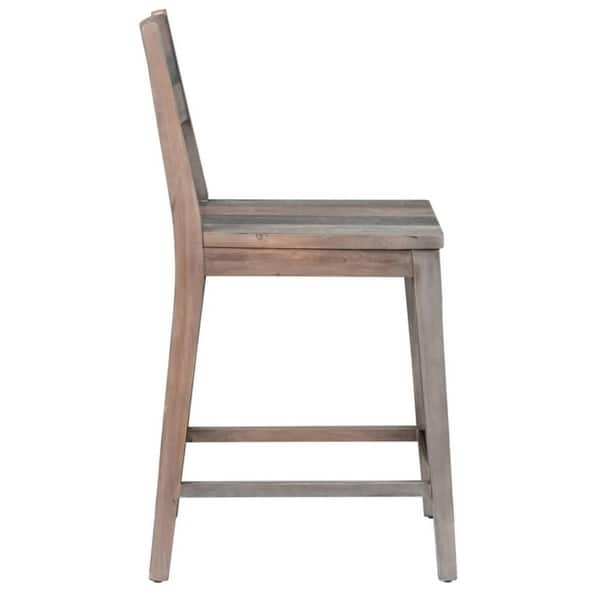 Miraculous Shop The Gray Barn Fairview Reclaimed Wood Counter Stool Pdpeps Interior Chair Design Pdpepsorg