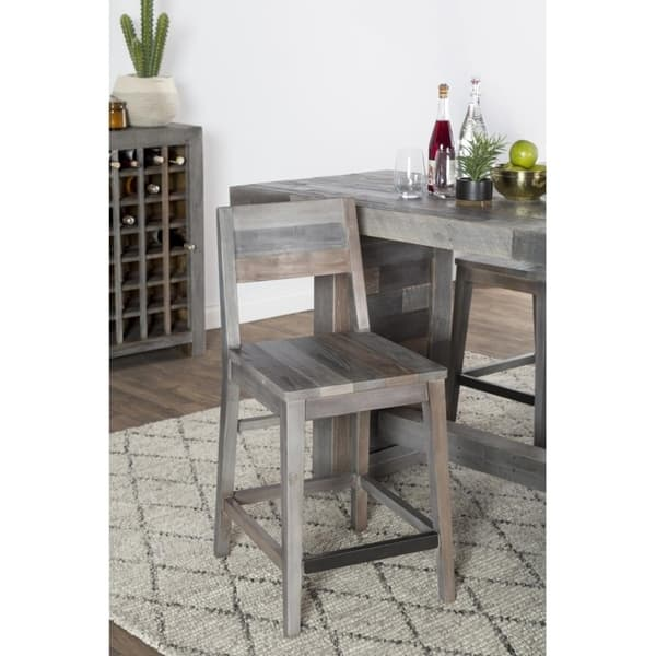 Brilliant Shop The Gray Barn Fairview Reclaimed Wood Counter Stool Pdpeps Interior Chair Design Pdpepsorg