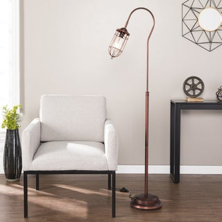 Carbon Loft Edgar Single-light Floor Lamp