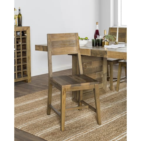 The Gray Barn Pivi Reclaimed Wood Dining Chair