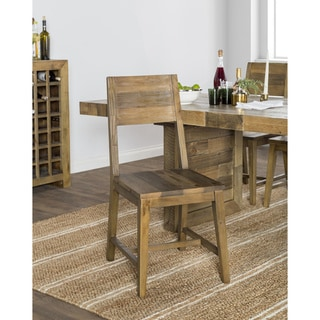 The Gray Barn Pivi Reclaimed Wood Dining Chair (Set of 2)