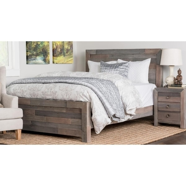 The Gray Barn Fairview Reclaimed Wood Bed. Opens flyout.
