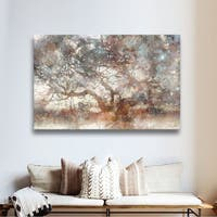 The Gray Barn Roozbeh Bahramali's 'Wisdom Tree' Gallery Wrapped Canvas Art - Brown