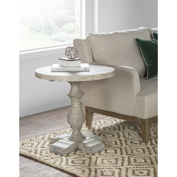 The Gray Barn Cinnabar Reclaimed Pine Side Table