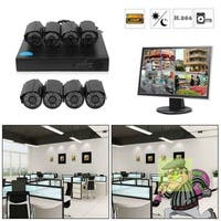 Security Camera System and 1080P DVR Security system Indoor/Outdoor CCTV Cameras with 100ft Night Vision and Motion Detection