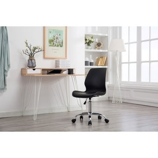 Porthos Home Adjustable Height Office Desk Chair with Wheels