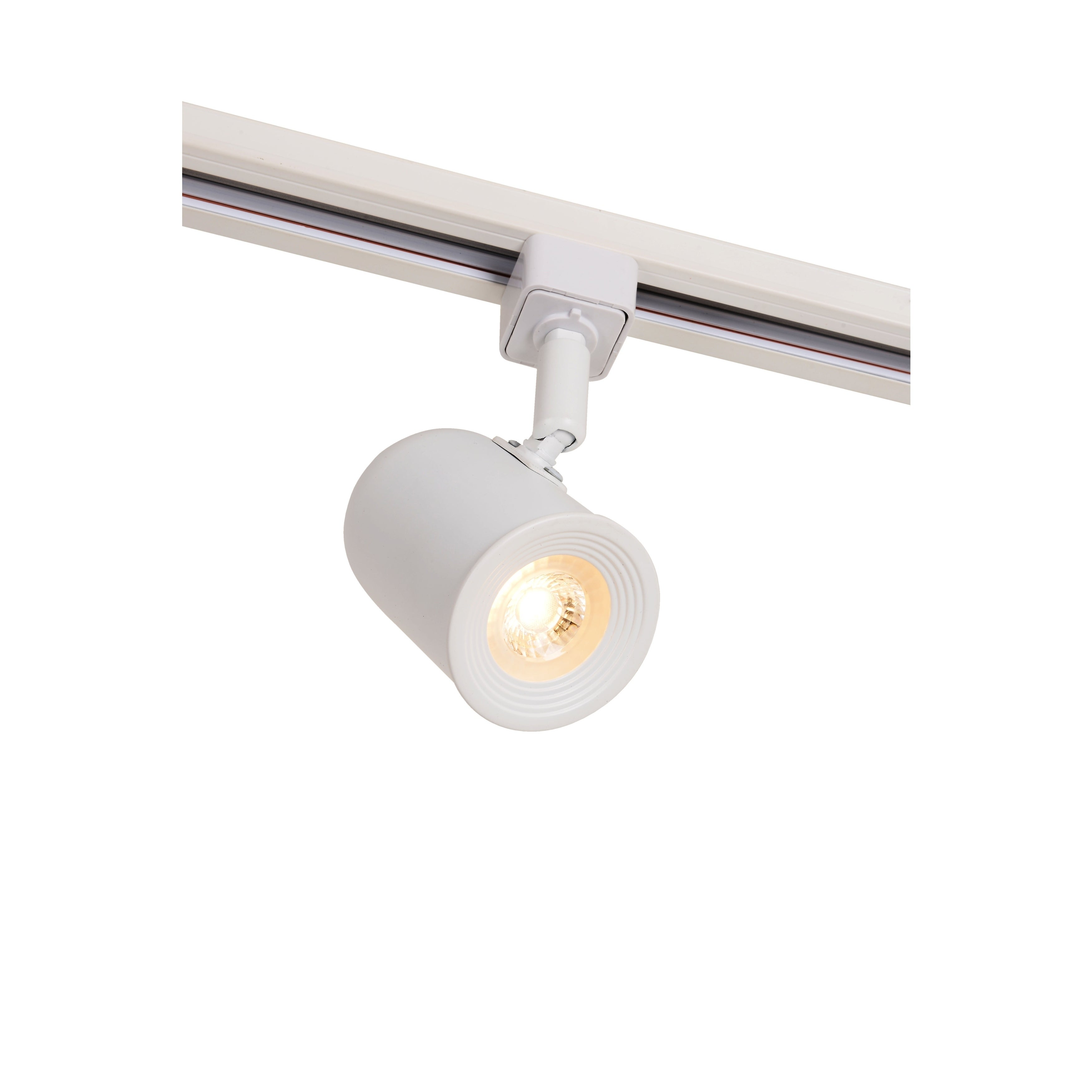 "Led Track Light Head White: Catalina Lighting White LED 1-Light 5"" Track Lighting Head"