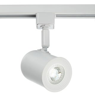"""Catalina Lighting White LED 1-Light 5"""" Track Lighting Head, Adjustable, Dimmable, Bulb Included, Easy Installation, 20260-003"""