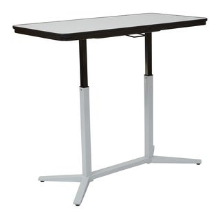 Pneumatic Height Adjustable Dry-Erase White Table Top
