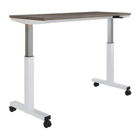 5 ft. Wide Pneumatic Height Adjustable Table w/ Laminate Top