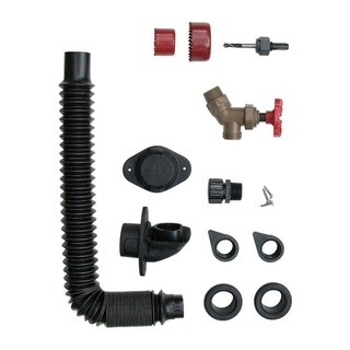 EarthMinded DIY Rain Receptacle Diverter and Parts Plastic