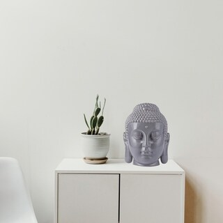 Varaluz Casa Gray Buddha Cookie Jar