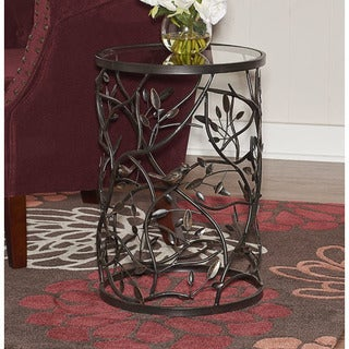 Stacy Bird and Branch Accent Table