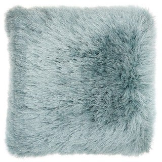 """Link to Mina Victory Yarn Shimmer Shag Throw Pillow by Nourison (17"""" x 17"""") Similar Items in Decorative Accessories"""