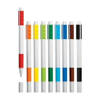 Lego Santoki Multi-Colored Gel Pen 9 pk