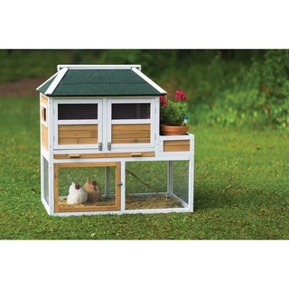 Prevue Pet Products Chicken Coop with Herb Planter 4701