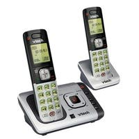 Vtech  Cordless Silver/Black  Digital  Telephone  Built In Answering Machine Built In Caller ID 2