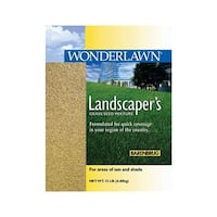 Wonderlawn  Landscaper's  Sun & Shade  Grass Seed  15 lb.