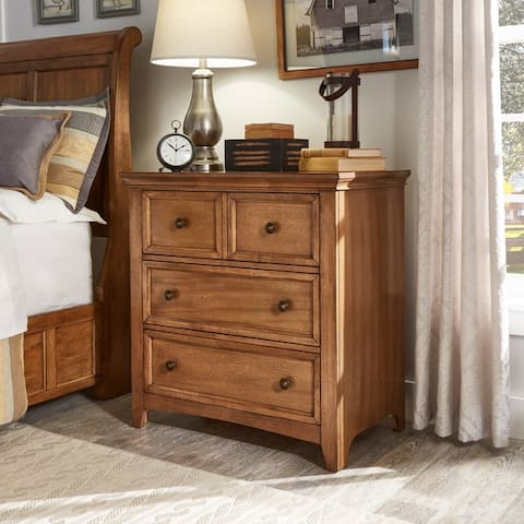 Copper Grove Ylivieska 3-drawer Nightstand Chest