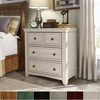 Ediline 3-Drawer Nightstand Chest by iNSPIRE Q Classic