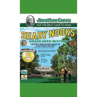 Jonathan Green Shady Nooks Poa Trivialis and Hard Fescue Shade Grass Seed 7 lb.