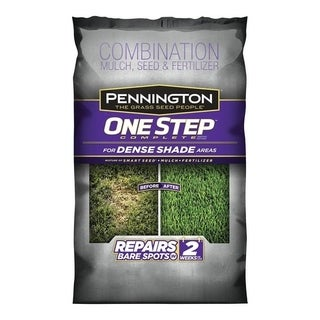Pennington One Step Complete Smart Seed Dense Shade Seed, Mulch & Fertilizer 8.3 lb.