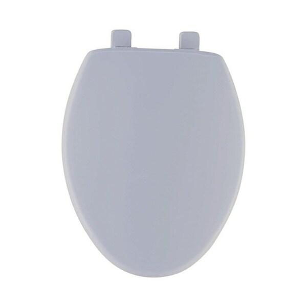 Shop Mayfair Plastic Slow Close Toilet Seat Elongated Bone