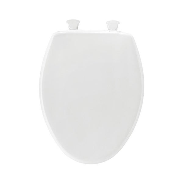 Shop Mayfair Plastic Toilet Seat Elongated White Free