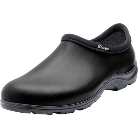 Sloggers Men's Rain and Garden Shoe Size 9 Black