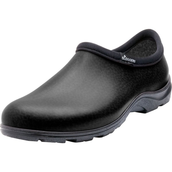 Sloggers  Men's  Rain and Garden Shoe  Size 11  Black -  PRINCIPLE PLASTICS, 187614