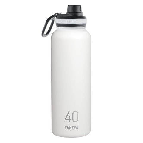 Takeya ThermoFlask Snow Stainless Steel Double Wall Tumbler BPA Free 40 oz.