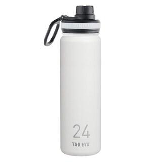 Takeya ThermoFlask Snow Stainless Steel Double Wall Tumbler BPA Free 24 oz.