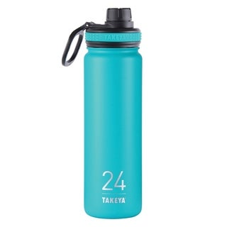 Takeya ThermoFlask Ocean Stainless Steel Double Wall Tumbler BPA Free 24 oz.