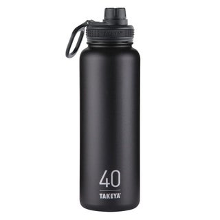 Takeya ThermoFlask Asphalt Stainless Steel Double Wall Tumbler BPA Free 40 oz.