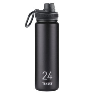 Takeya ThermoFlask Asphalt Stainless Steel Double Wall Tumbler BPA Free 24 oz.
