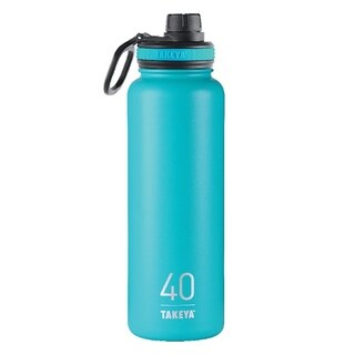 Takeya Thermoflask Ocean Stainless Steel Water Bottle BPA Free 40 oz.
