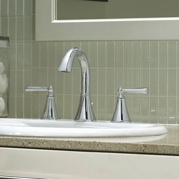 Saxton Widespread Bath Faucet Lg49 Gl0c