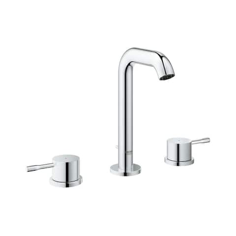 """Grohe Essence 8"""" Widespread Two-Handle Bathroom Faucet M-Size 2029700A StarLight Chrome"""