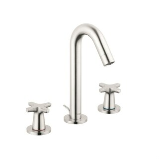 Hansgrohe Logis Classic Widespread Faucet, 1.2 GPM 71323821 Brushed Nickel