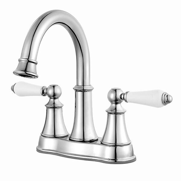 1.2gpm Pfister LF-048-DECC Designer 2-Handle 4 Centerset Bathroom Faucet in Polished Chrome