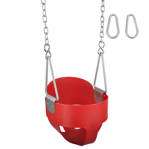 Swing Set Stuff Inc. Highback Full Bucket with Chains and Hooks