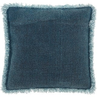 Mina Victory Pleated Velvet Throw Pillow