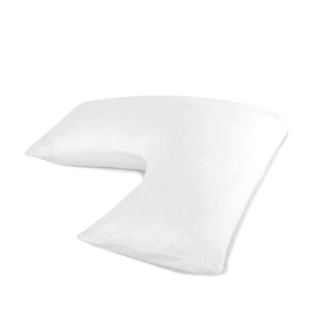 I AM The Boomerang Pillow - White